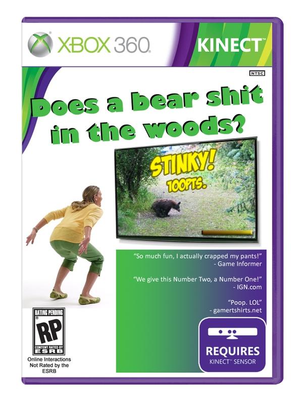 Bear Shit Xbox Kinect Game